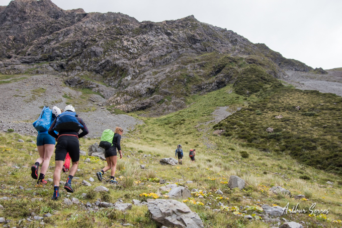 On the way to Curtis Creek Canyoning Festival 2020 New Zealand