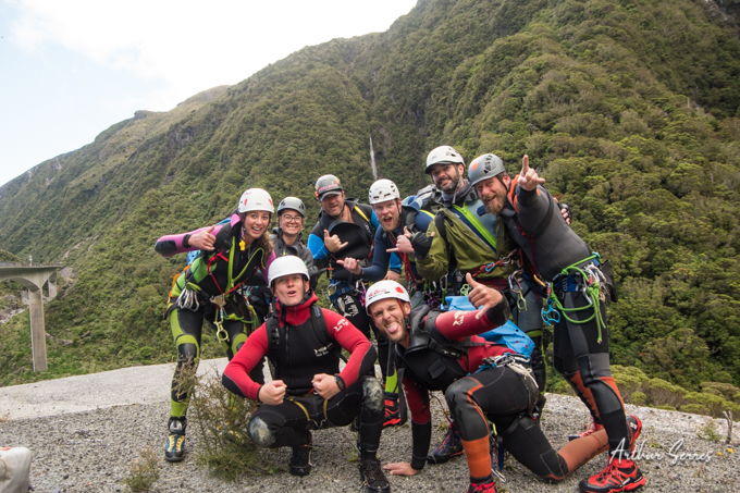 NZ Canyoning Festival Team